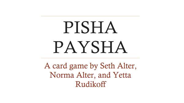 Pisha-Paysha